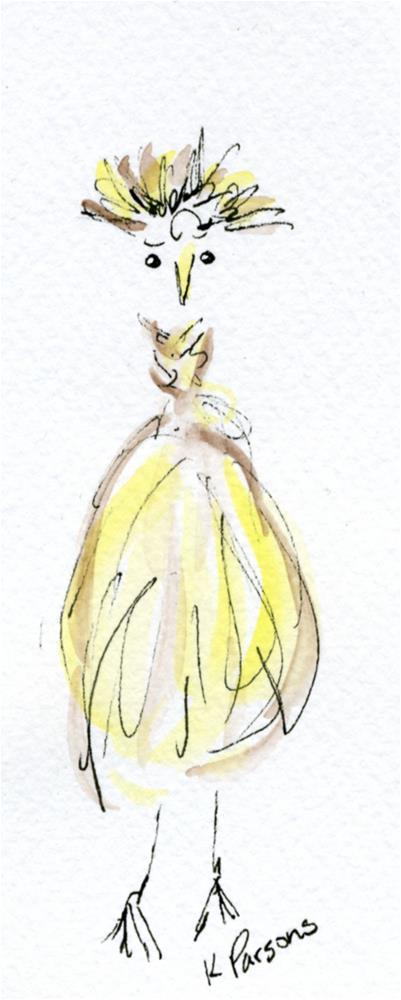 """Phyllis"" original fine art by Kali Parsons"