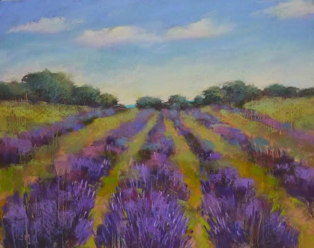 """How to Store a Large Pastel Painting"" original fine art by Karen Margulis"