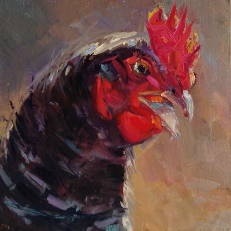 """Angry Ethel"" original fine art by Patti McNutt"