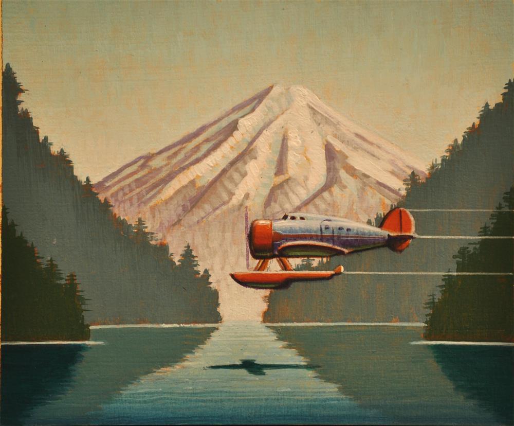 """""""Hidden Cove"""" original fine art by Robert LaDuke"""