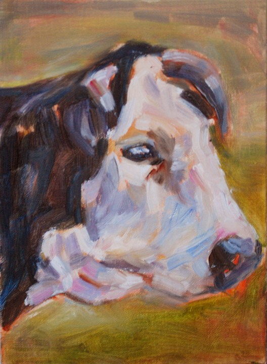 """Looking for Love"" original fine art by Carol DeMumbrum"