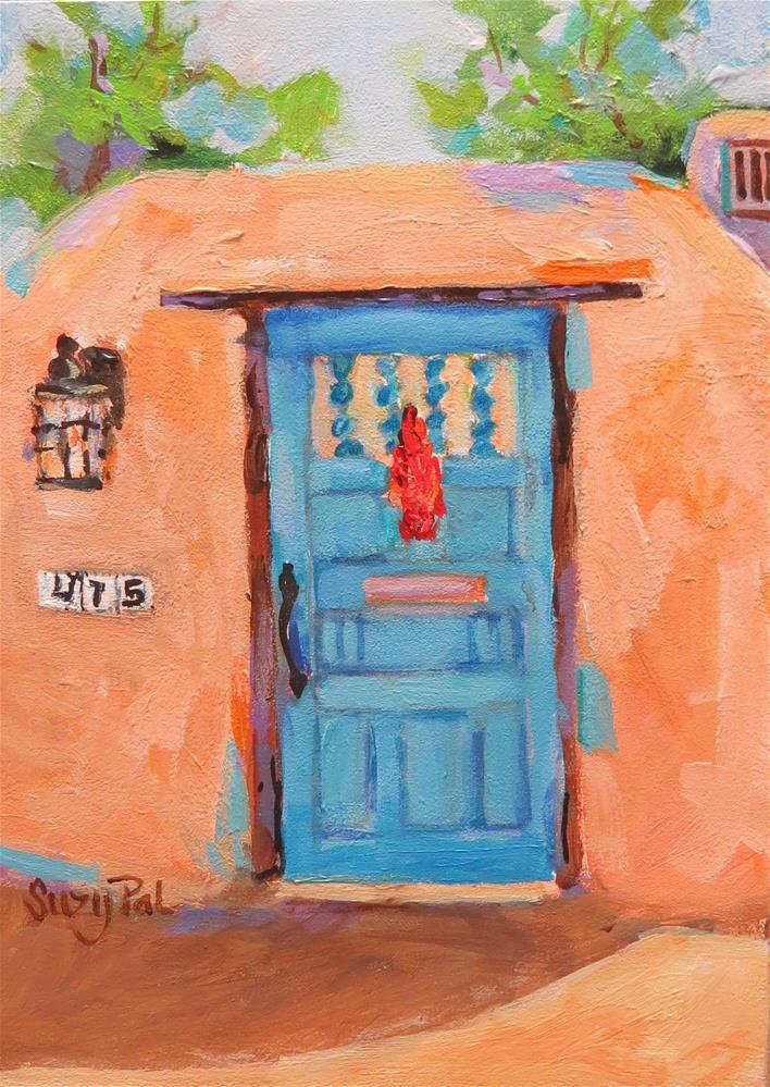 """Santa Fe #7"" original fine art by Suzy 'Pal' Powell"