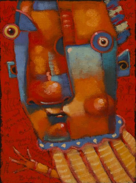 """""""Dr. Lovelorn"""" original fine art by Brenda York"""
