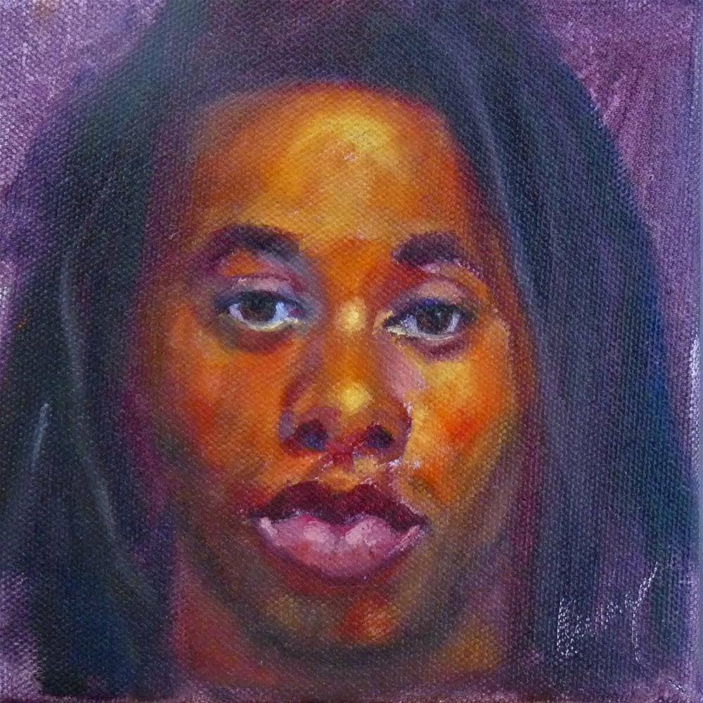 """""""Mesmerize"""" original fine art by Sharman Owings"""