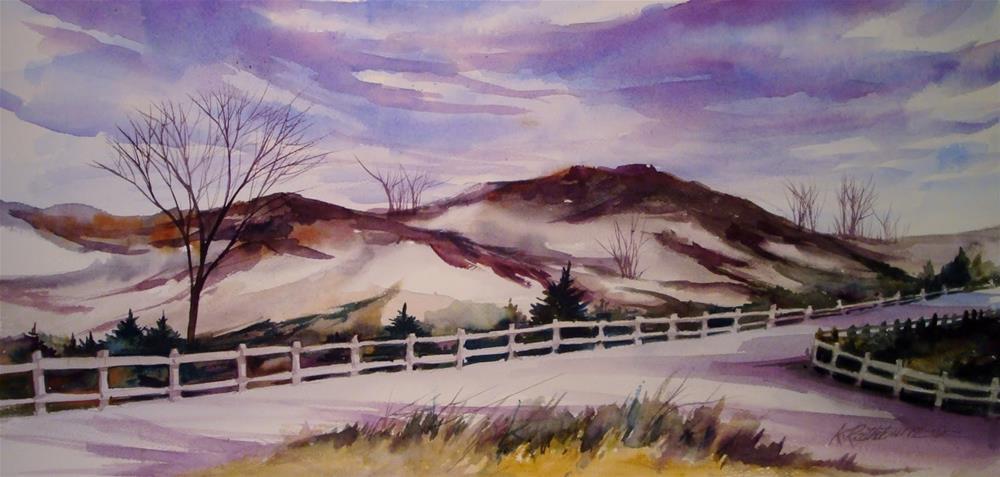 """""""West Beach"""" original fine art by Kathy Los-Rathburn"""