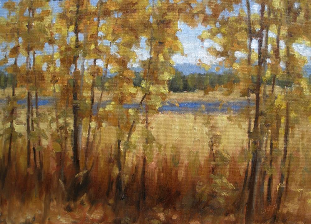 """October Color"" original fine art by denise gilroy"