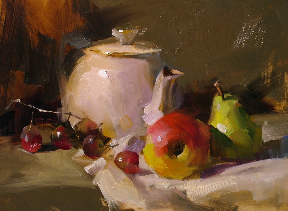 """""""Demo in Albany 2012_1"""" original fine art by Qiang Huang"""