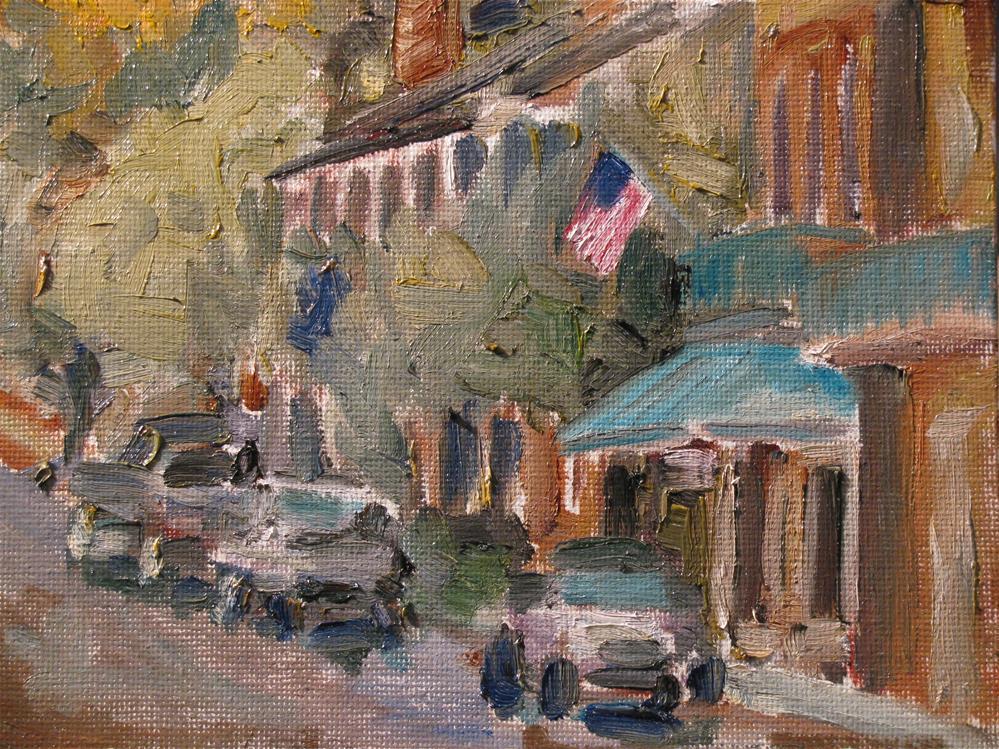 """Under-the-Hill"" original fine art by Susan Elizabeth Jones"