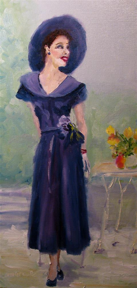 """Sans Pearls"" original fine art by Susan Elizabeth Jones"