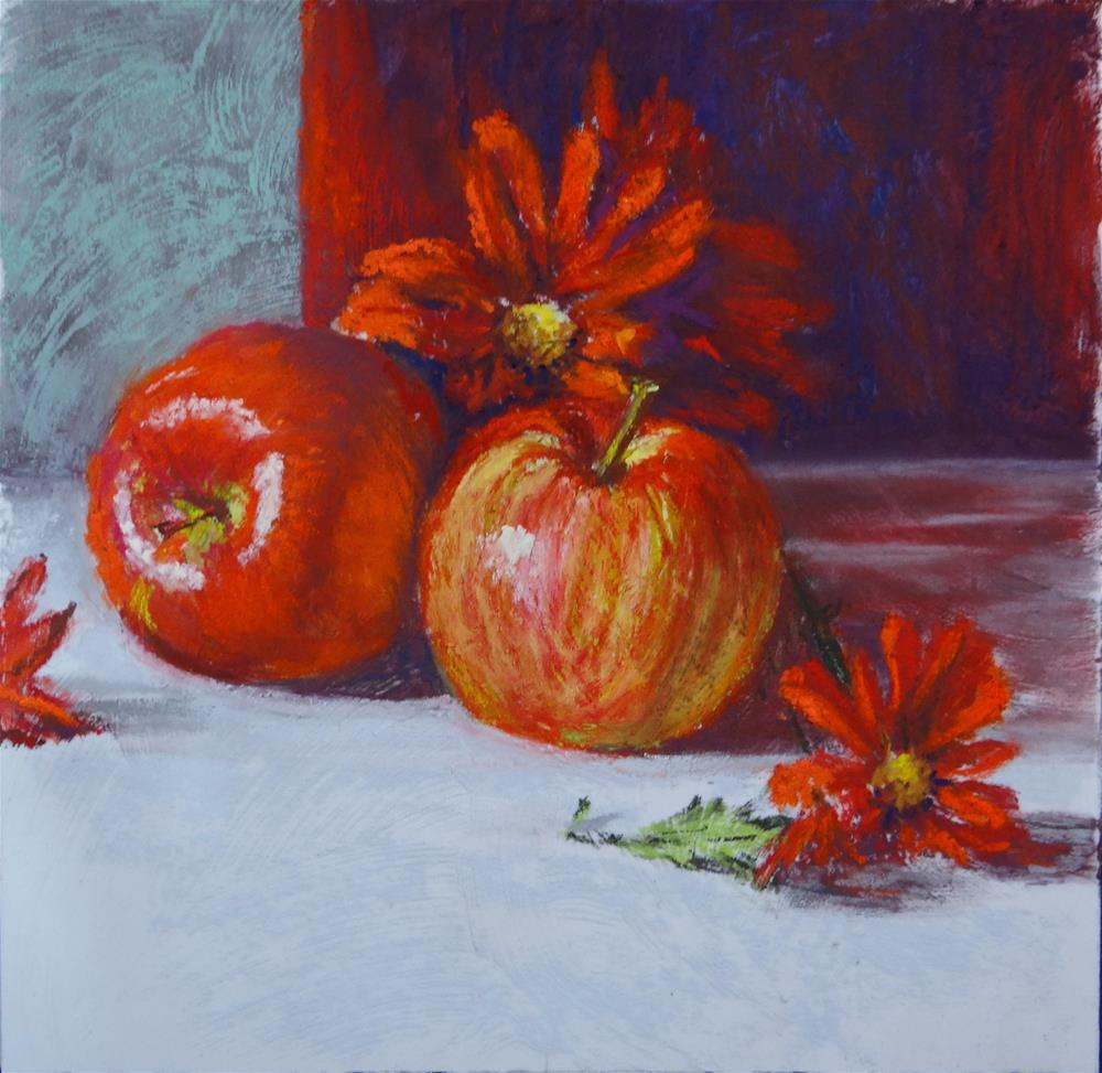 """""""All About Red"""" original fine art by Denise Beard"""