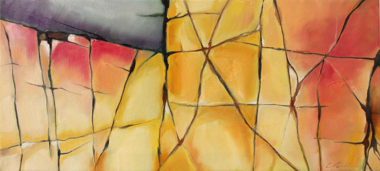 """Precipice"" original fine art by Clair Hartmann"
