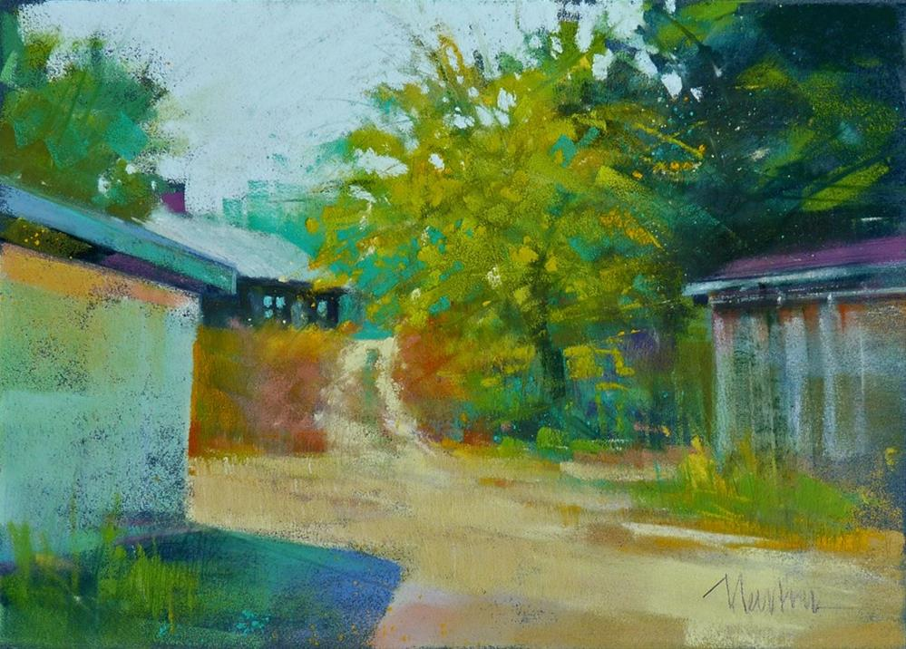 """Tucked Away"" original fine art by Barbara Benedetti Newton"
