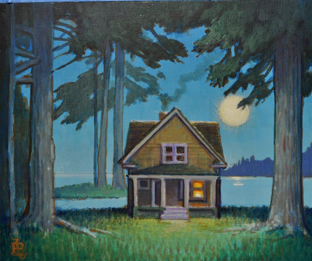 """Spring Camp"" original fine art by Robert LaDuke"