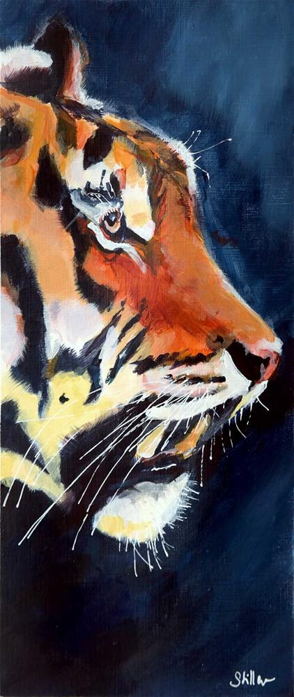 """2170 Tiger"" original fine art by Dietmar Stiller"