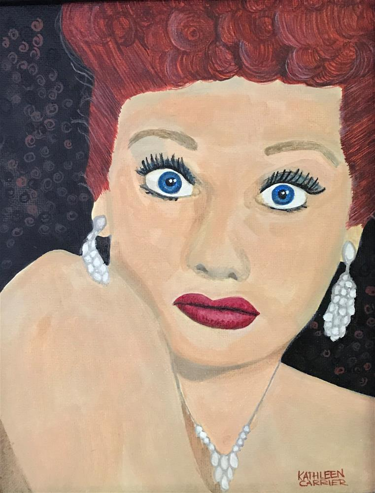 """Untitled"" original fine art by Kathleen Carrier"