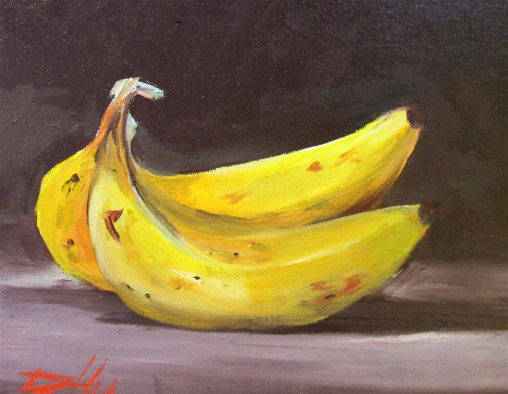 """Bananas"" original fine art by Delilah Smith"