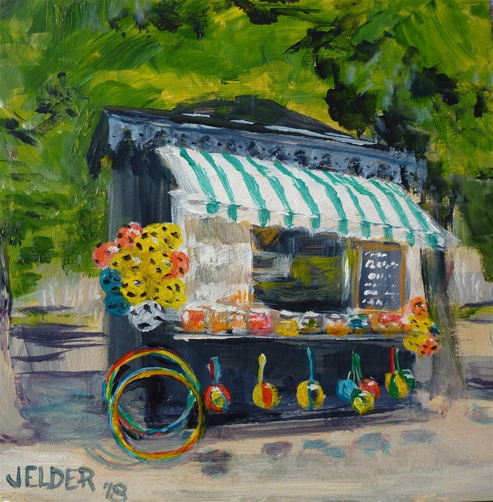 """Paris No. 111"" original fine art by Judith Elder"