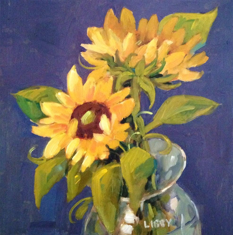 """Close Friends"" original fine art by Libby Anderson"