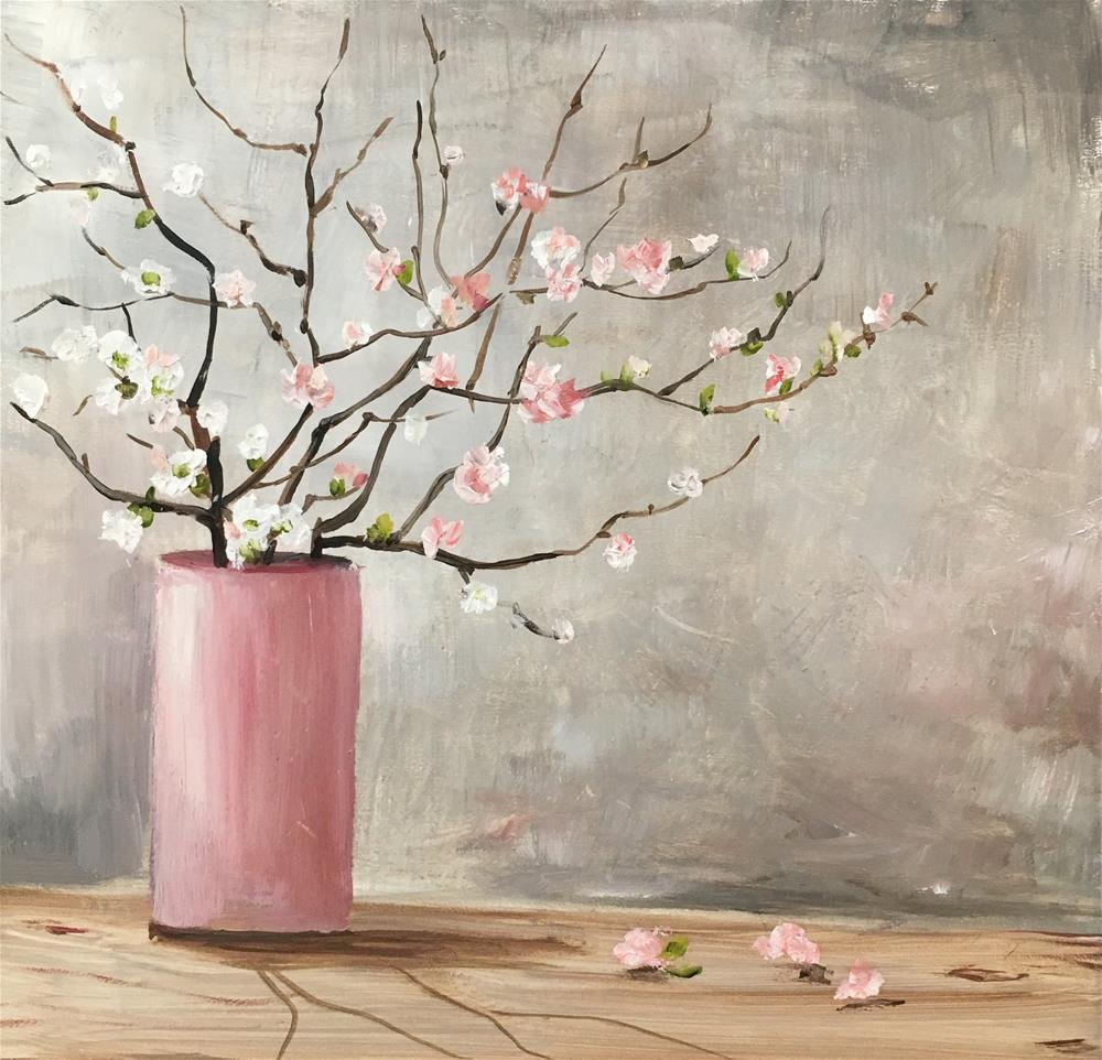 """Untitled"" original fine art by Nooshfar Vassei"