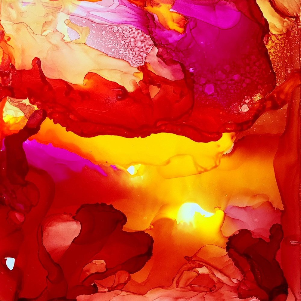 """Makers Fire"" original fine art by Elizabeth Dawn Johnston"