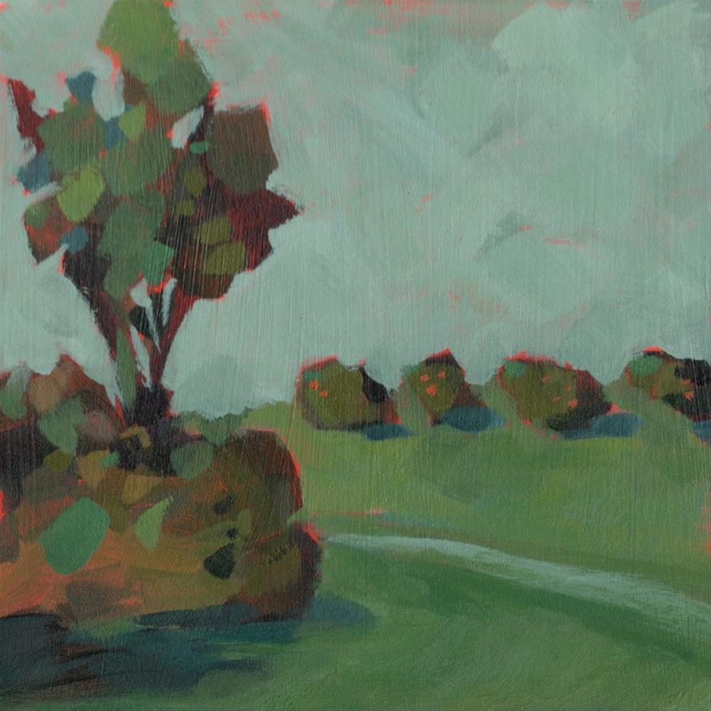 """0338: Roadside Groves"" original fine art by Brian Miller"