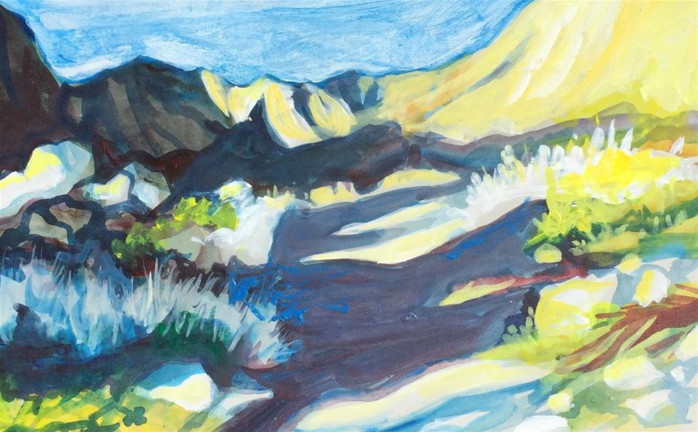 """Tahquitz Canyon"" original fine art by Sally Posner"