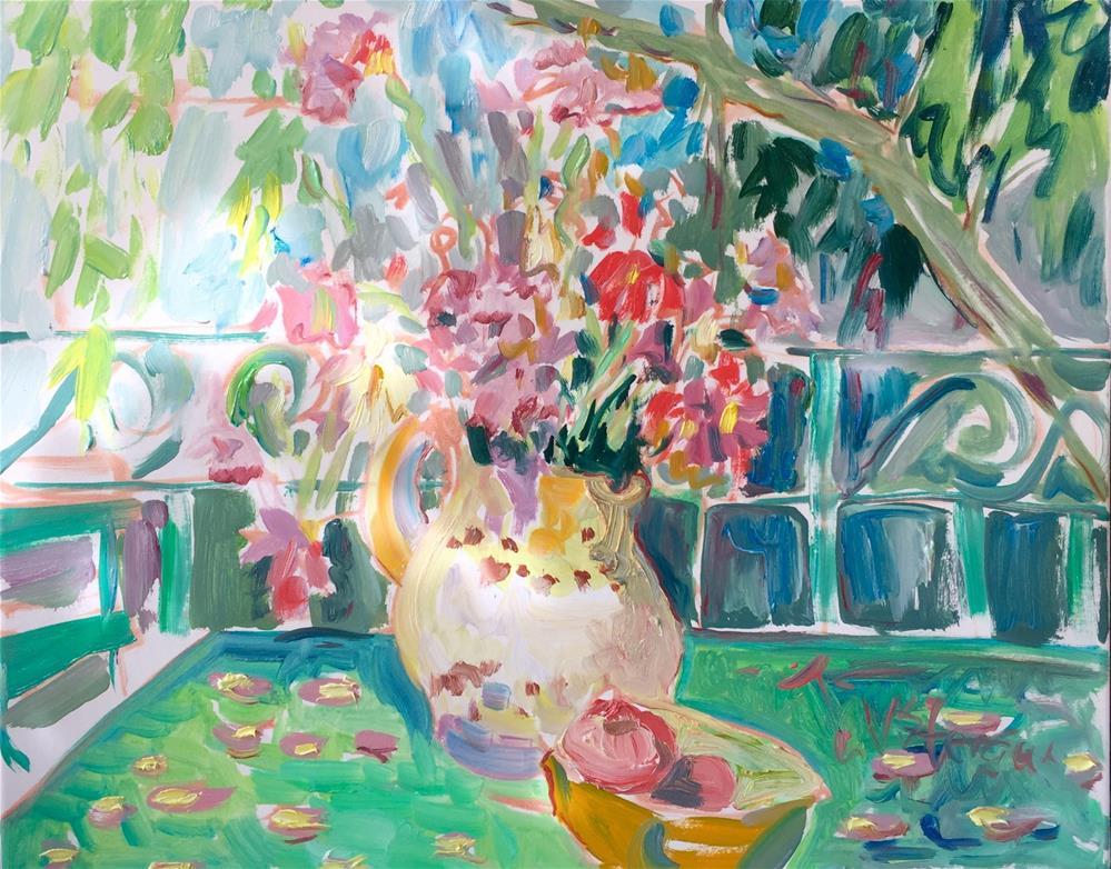"""Favored Elements"" original fine art by Virginia Fergus"