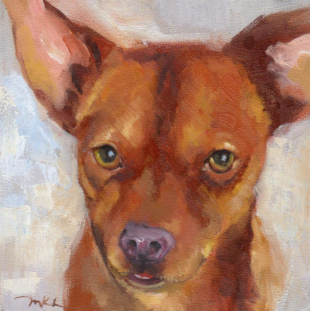 """Tough Guy"" original fine art by Marlene Lee"