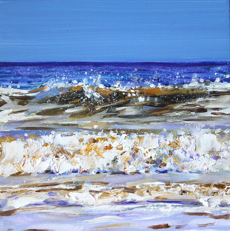 """Wave Length"" original fine art by Ken Devine"
