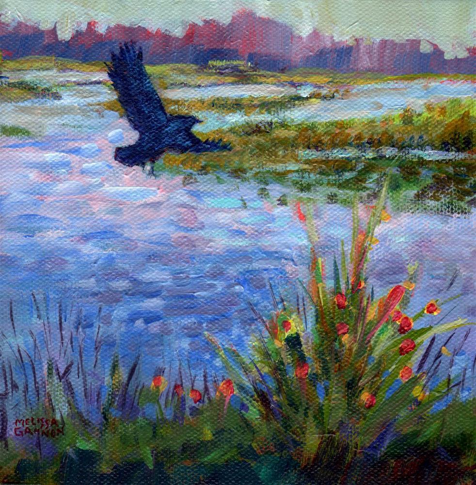 """King of the Marsh"" original fine art by Melissa Gannon"