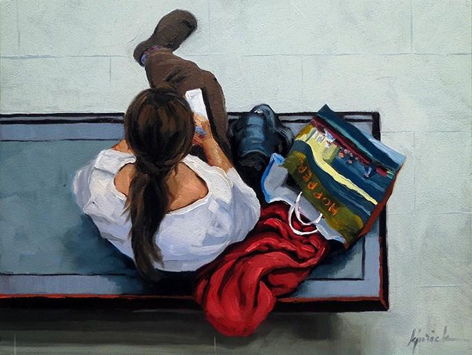 """""""Souvenirs"""" original fine art by Karin Jurick"""