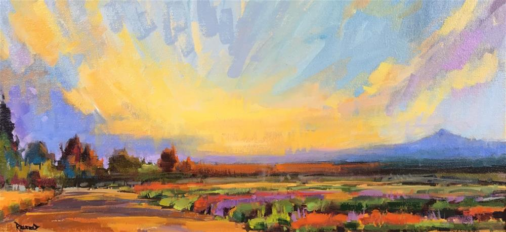 """Sunrise Splendor"" original fine art by Cathleen Rehfeld"