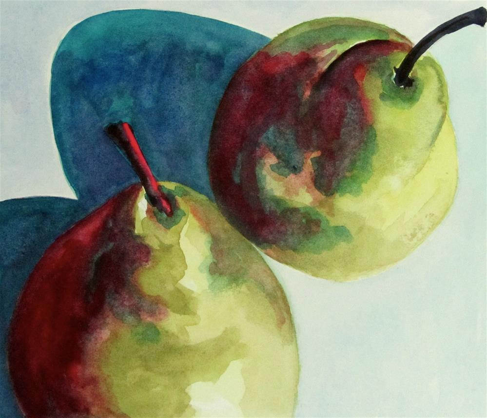 """Pairs"" original fine art by Patricia MacDonald"
