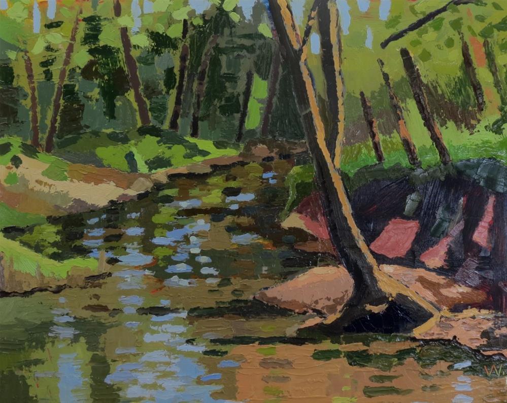 """Rappahannock"" original fine art by Joan Wiberg"
