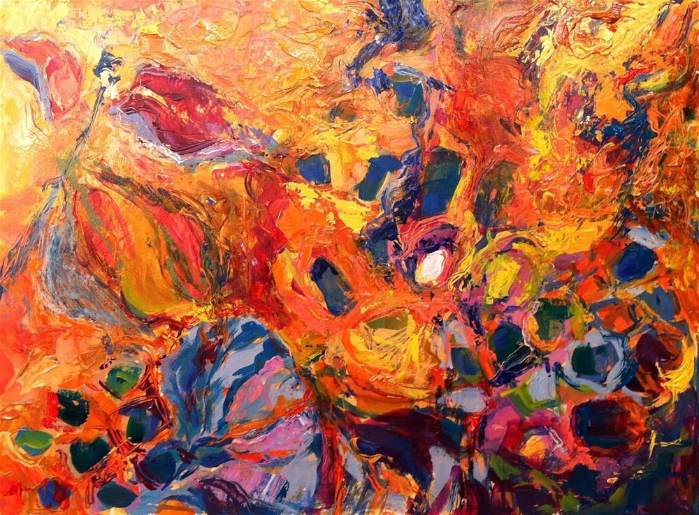 """Lotus Pod and Milkweed"" original fine art by Lynne Schulte"