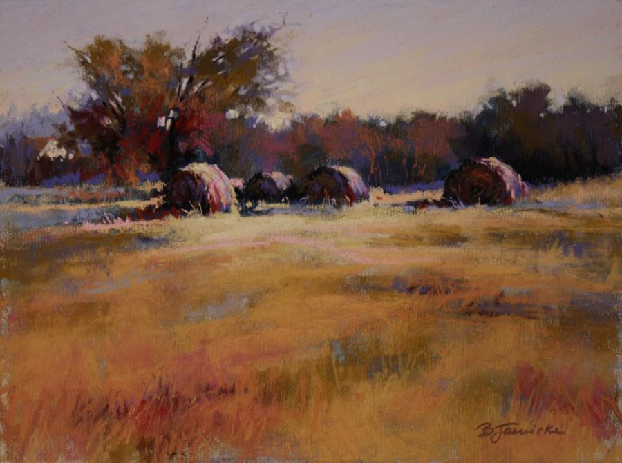 """Field of Dreams"" original fine art by Barbara Jaenicke"