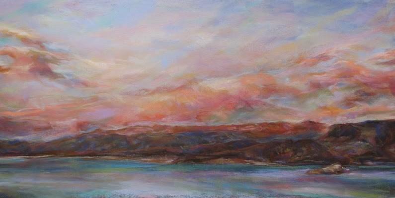 """Bye, bye Lake Mead!"" original fine art by Susan Roden"