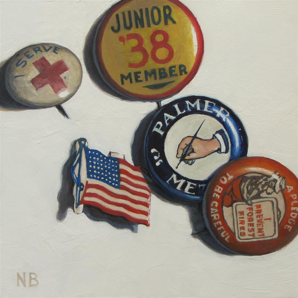 """Little League"" original fine art by Nora Bergman"