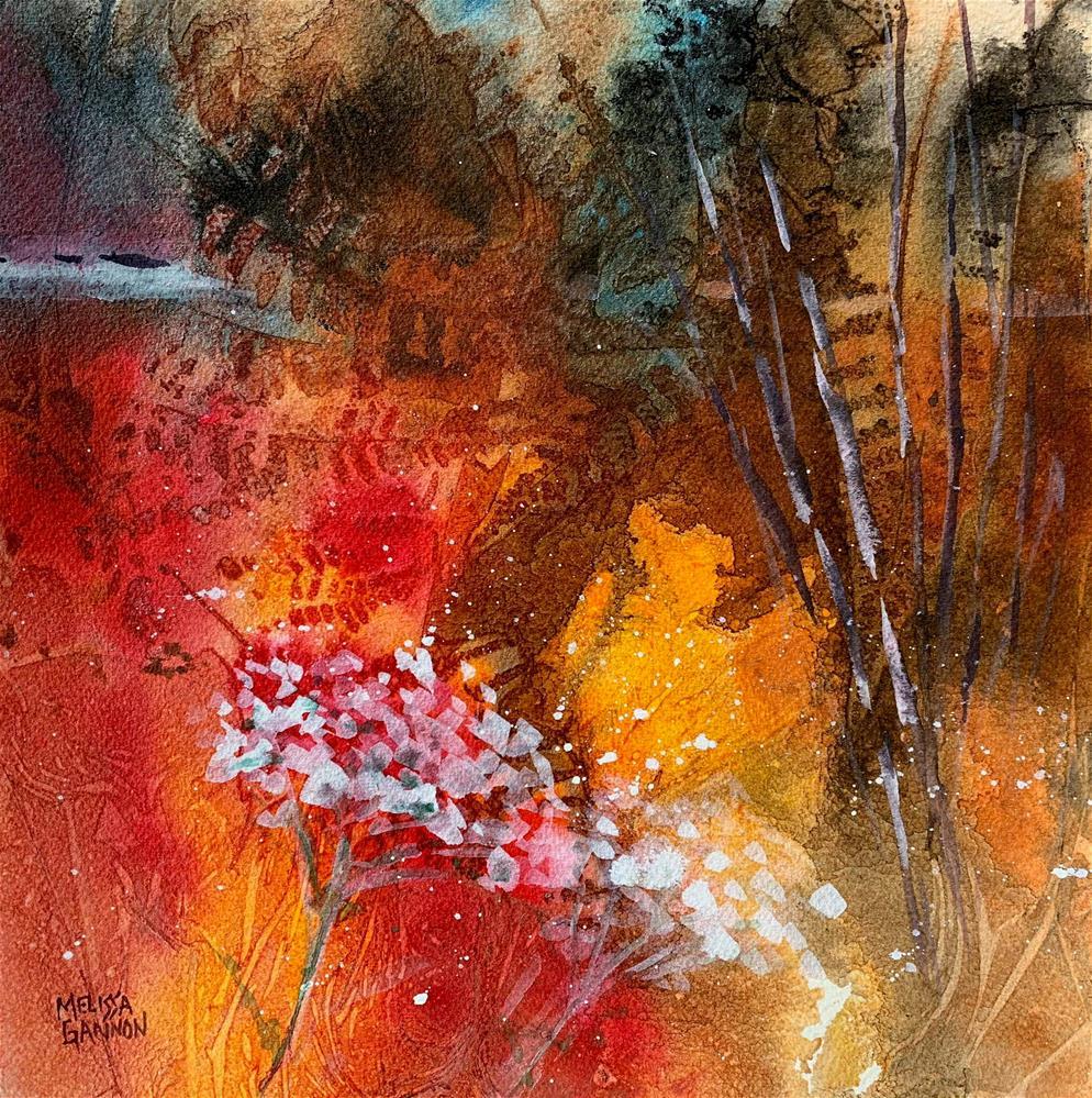 """Thoughts"" original fine art by Melissa Gannon"