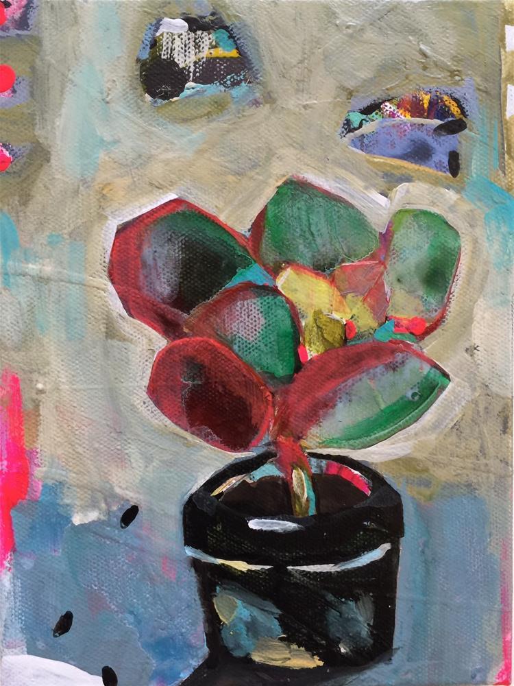 """45 Cavalleria Rusticana"" original fine art by Jenny Doh"