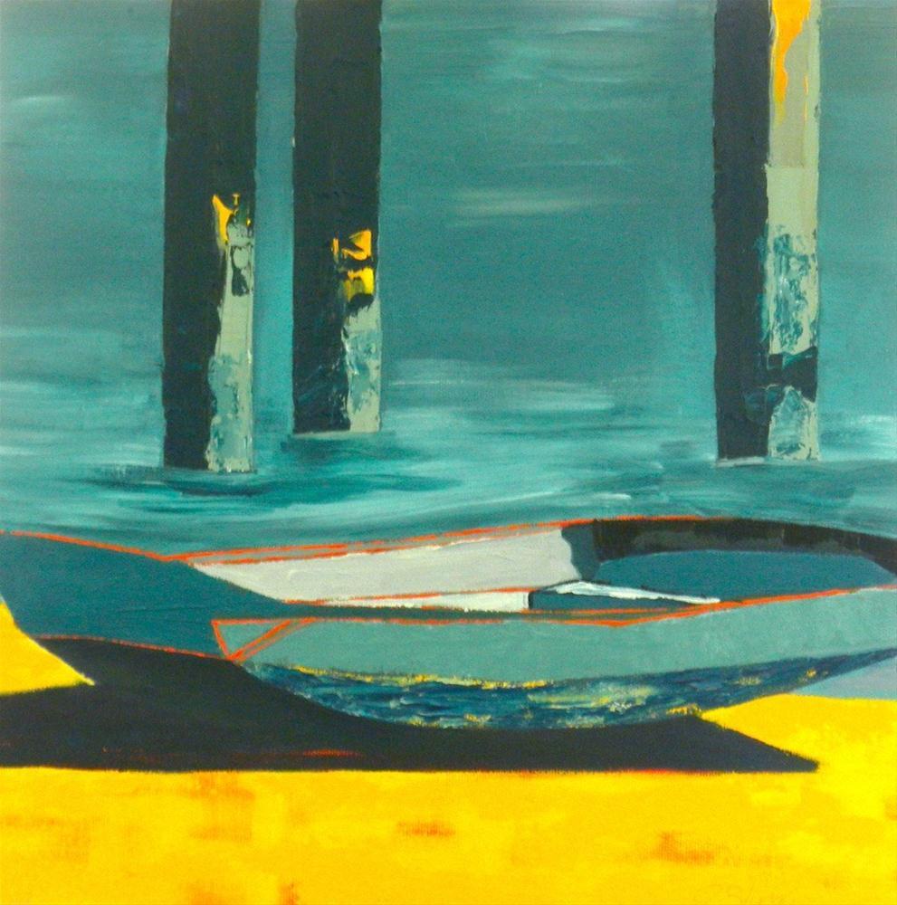 """""""Patrick's Summer"""" original fine art by Janet Bludau"""