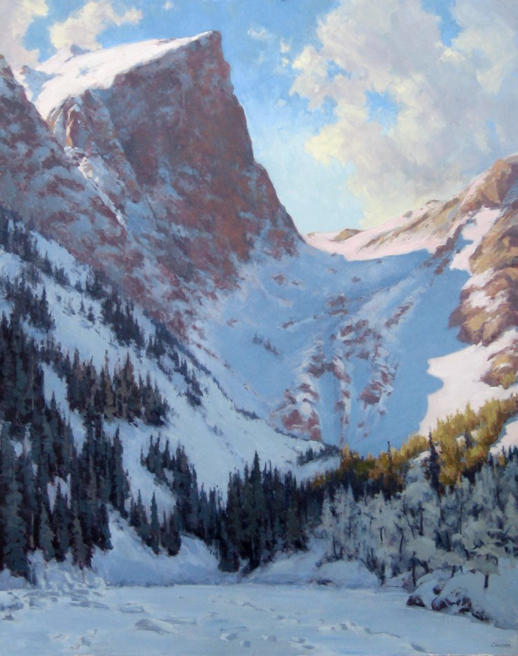 """DREAM LAKE"" original fine art by James Coulter"