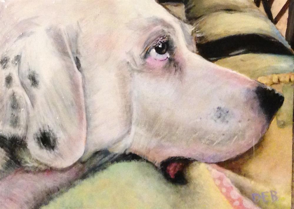 """Sweet Cannoli"" original fine art by Debbie Yacenda"