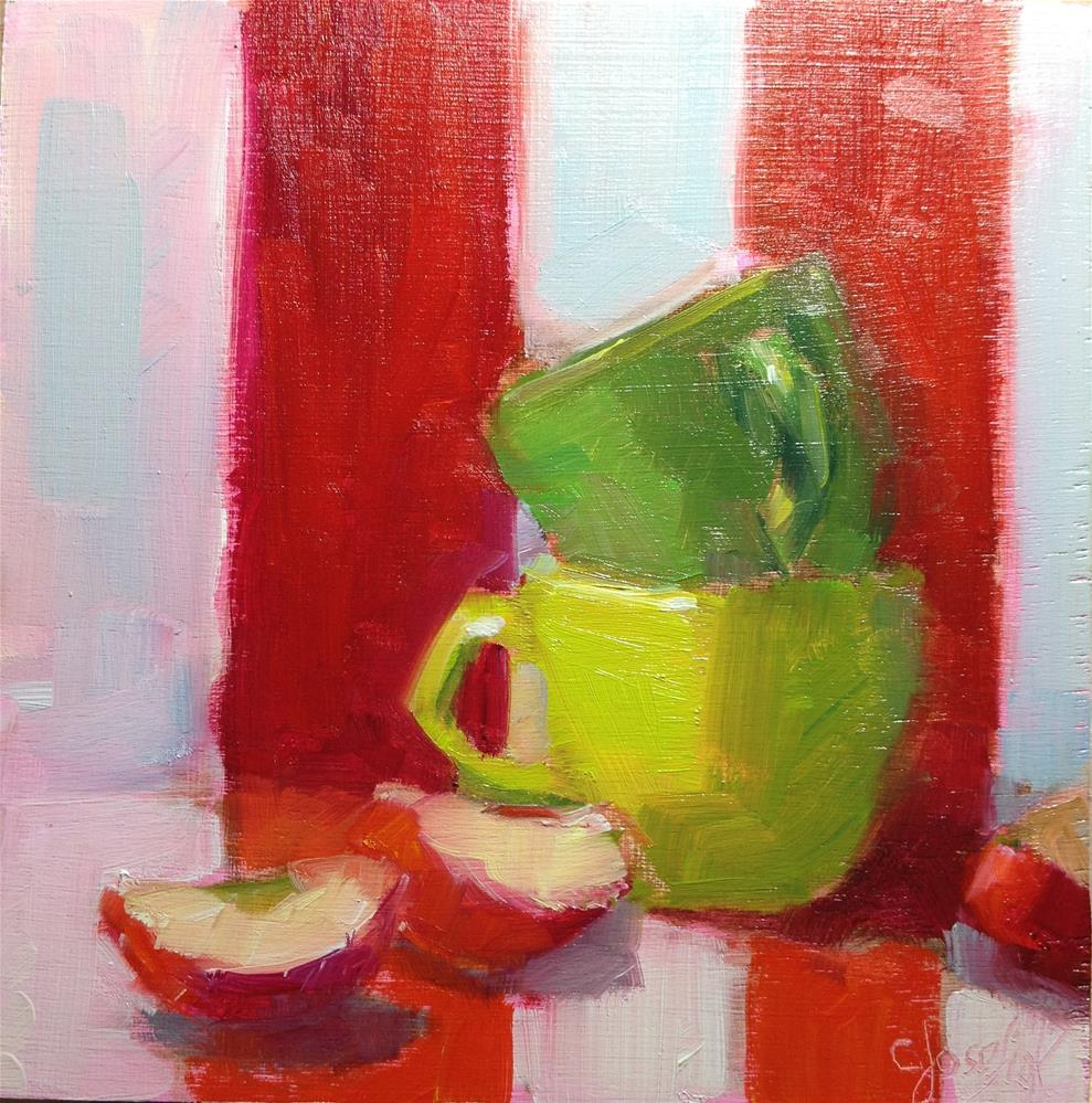 """Stripes"" original fine art by Carol Josefiak"