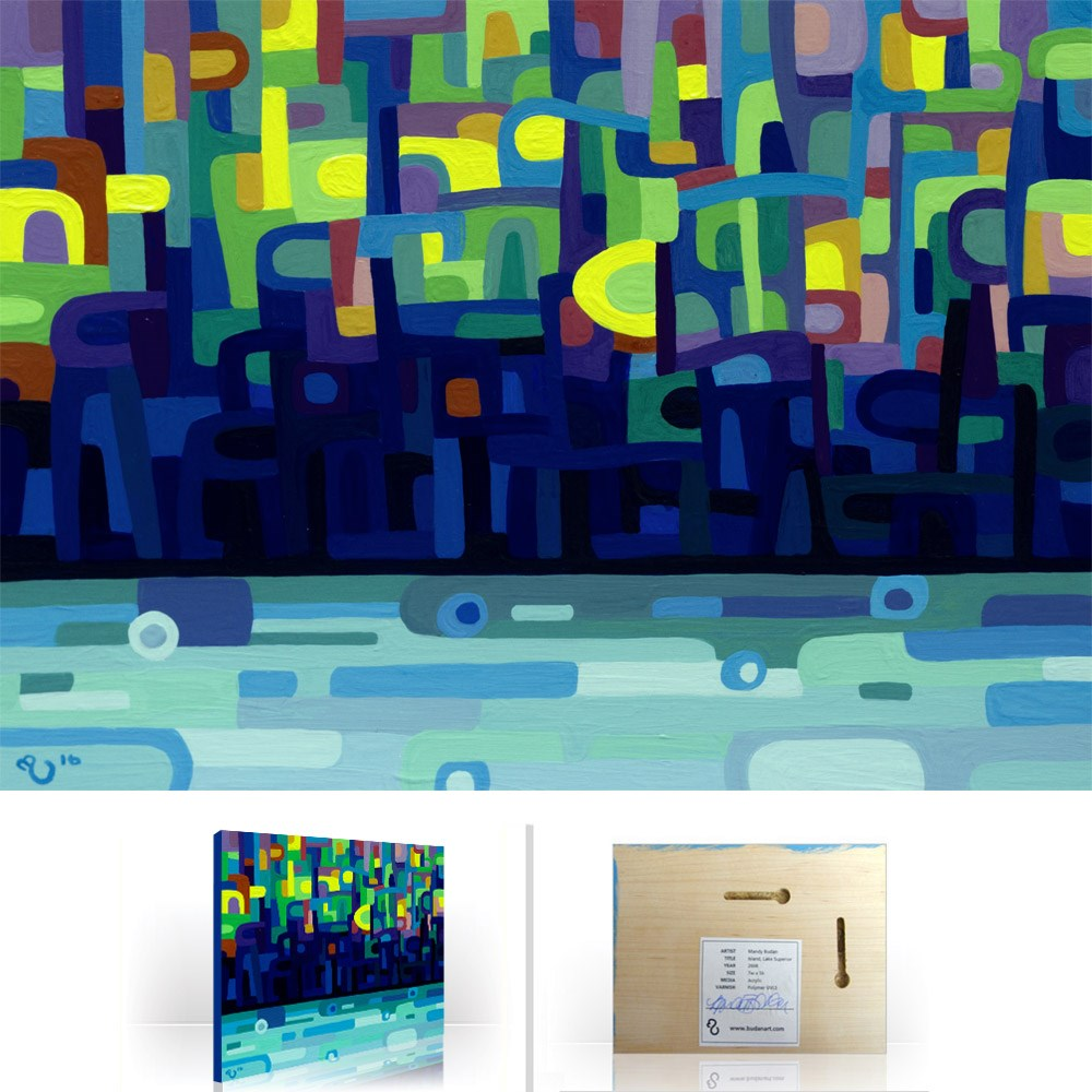 """Landscape Study #99"" original fine art by Mandy Budan"