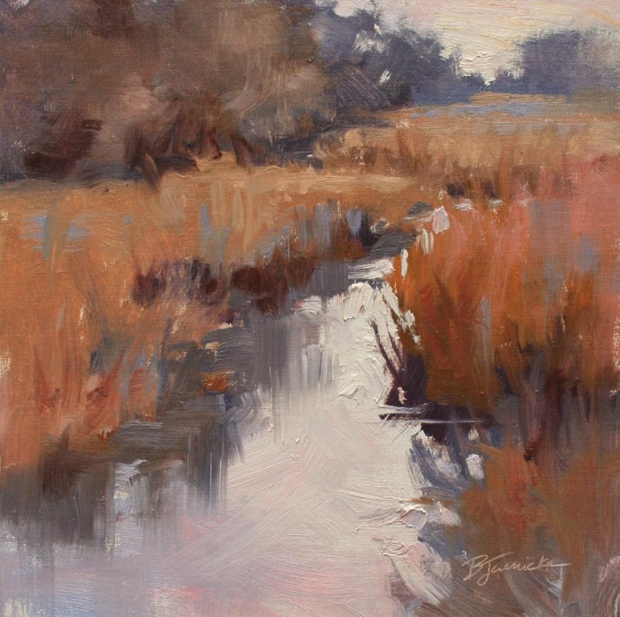 """A Quiet Moment"" original fine art by Barbara Jaenicke"
