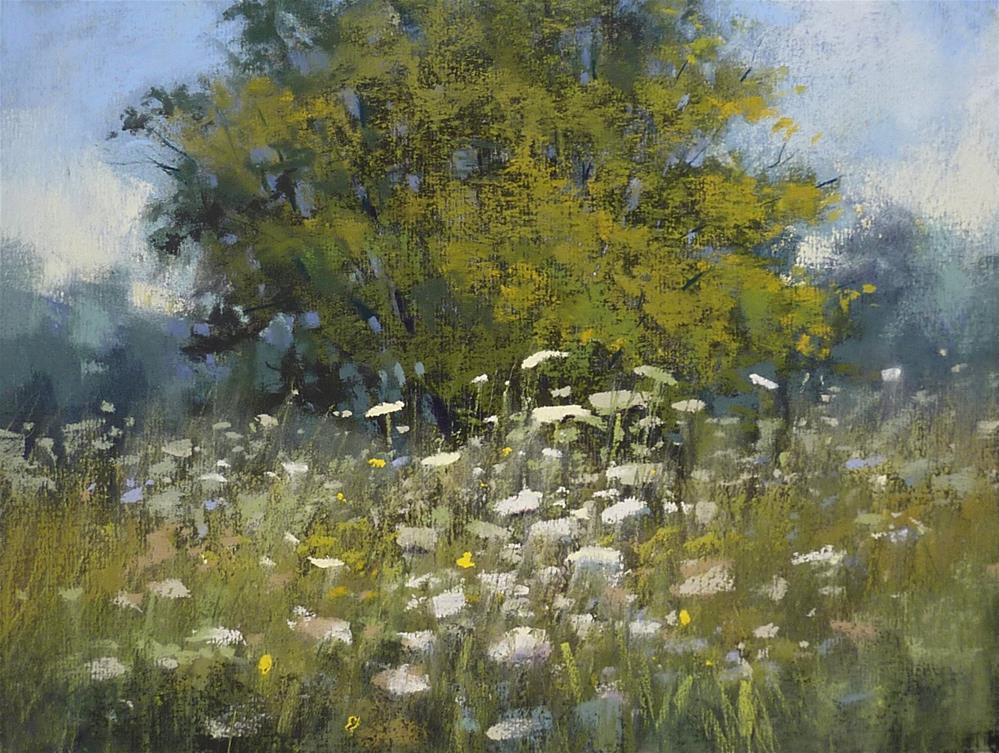 """Tips for Simplifying Tree Paintings"" original fine art by Karen Margulis"