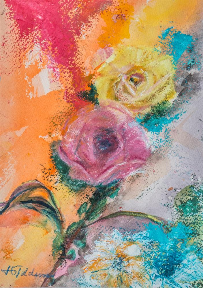 """Spring Indeed"" original fine art by Jeri Giddens"