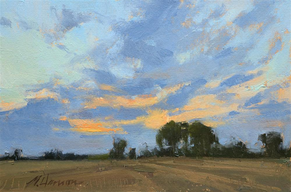 """SW Sky"" original fine art by Marc Hanson"