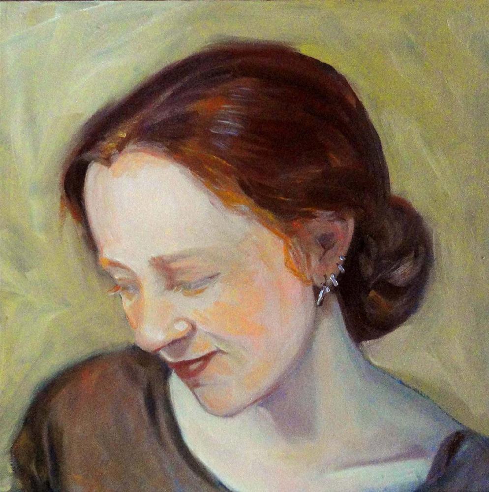 """""""My Daughter, My Friend"""" original fine art by Cietha Wilson"""
